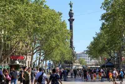 Espace commercial loué à un café-dîner à Barcelone
